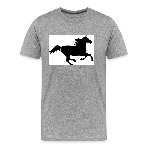 horse drink bottle - Men's Premium T-Shirt