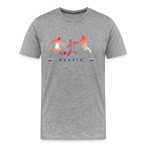 RUSSIA - RUS 3 Players - Men's Premium T-Shirt