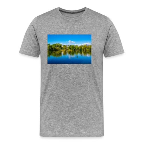 A Day at the Park - Men's Premium T-Shirt
