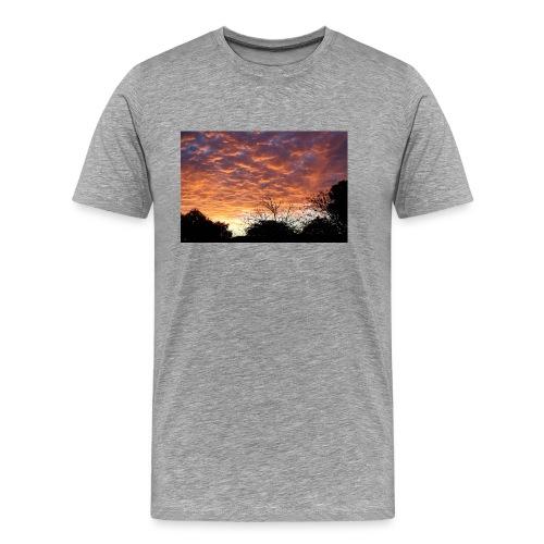 Sunset and light - Men's Premium T-Shirt