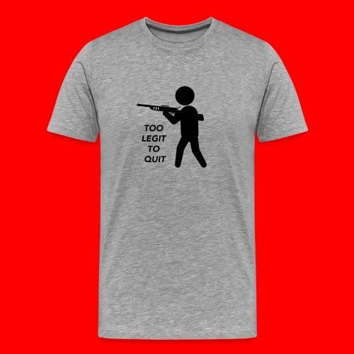 OxyGang: Too Legit To Quit Products - Men's Premium T-Shirt