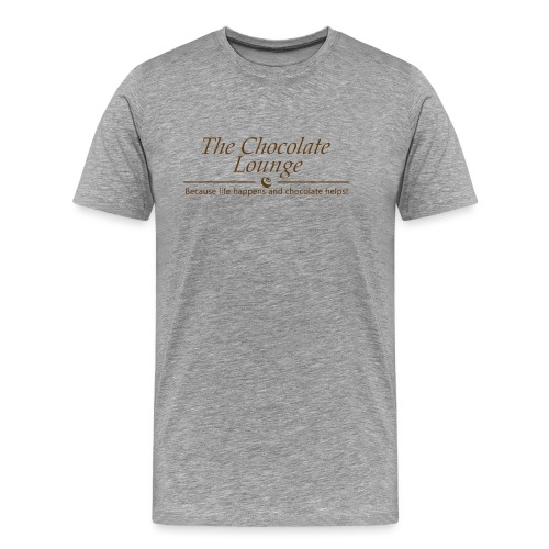 The Chocolate Lounge T shirt design 1 - Men's Premium T-Shirt