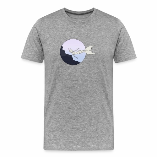 Robot underwater - Men's Premium T-Shirt