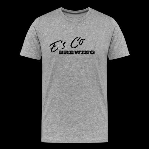 Es Co Brewing OG Logo Black - Men's Premium T-Shirt