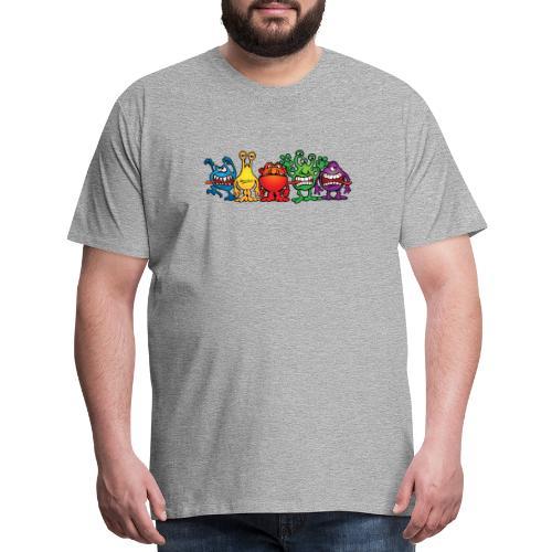 Alien Friends - Men's Premium T-Shirt