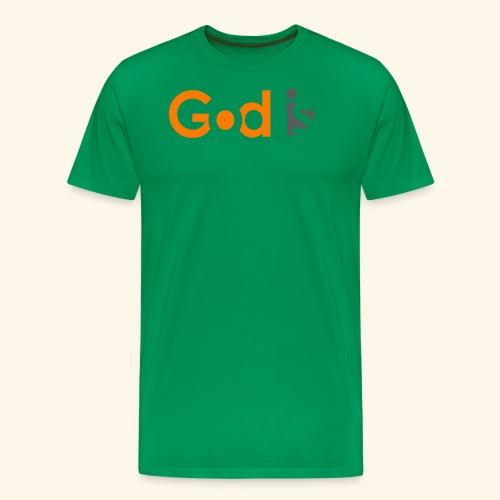 GOD IS #6 - Men's Premium T-Shirt