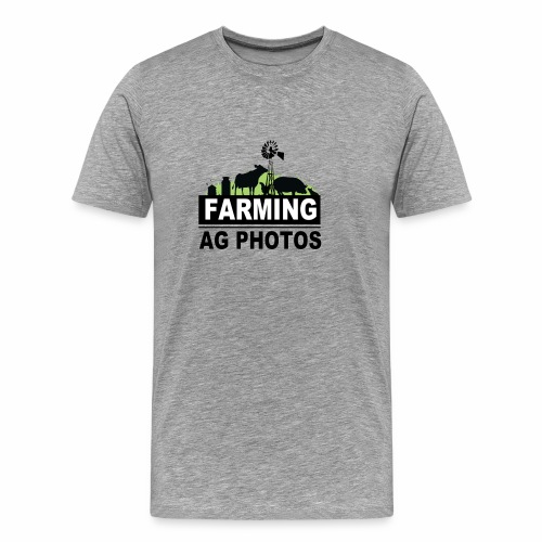 Farming Ag Photos - Men's Premium T-Shirt