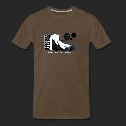 Wicked Dano Sneaker 1 - Men's Premium T-Shirt
