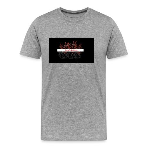 FLAMESTRIKEMuzzaSpring2016 logo - Men's Premium T-Shirt