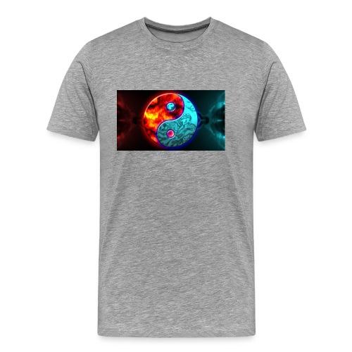 YIN N YANG - Men's Premium T-Shirt