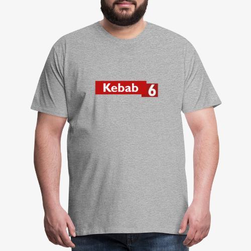 Kebab red logo - Men's Premium T-Shirt
