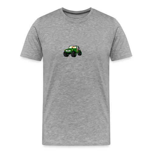 Happy Toy Jeep Green - Men's Premium T-Shirt