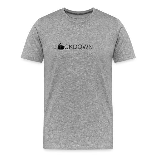 Lock Down - Men's Premium T-Shirt