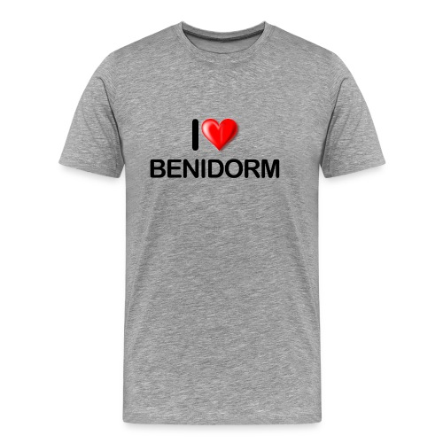 love benidorm - Men's Premium T-Shirt