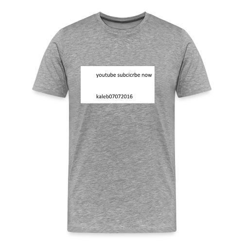 kaleb - Men's Premium T-Shirt