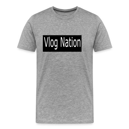 Vlog Nation - Men's Premium T-Shirt