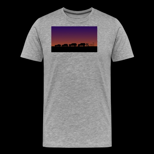 The Weekend Wagon Sunset Logo - Men's Premium T-Shirt