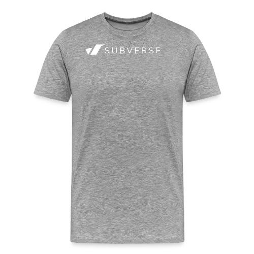 subverse logo - Men's Premium T-Shirt