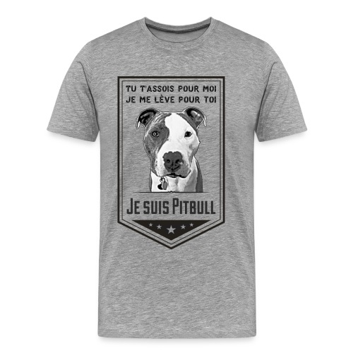 Je suis Pitbull - Men's Premium T-Shirt
