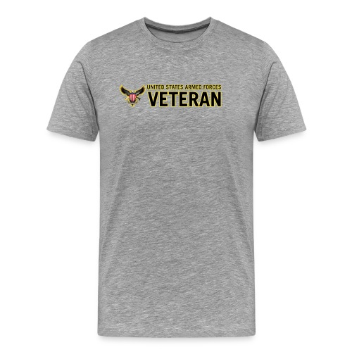 United States Armed Forces Veteran - Men's Premium T-Shirt