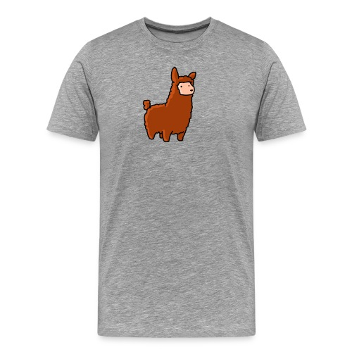 The lama - Men's Premium T-Shirt