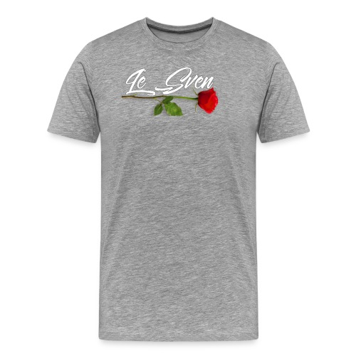 Le Sven Rose valentines day special - Men's Premium T-Shirt