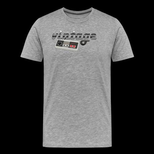 Vintage Gaming - Men's Premium T-Shirt