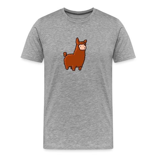 The lama - Men's Premium T-Shirt