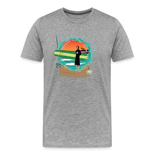 #foreverYoung Black Tee - Men's Premium T-Shirt