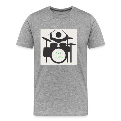 Drummer Luthur - Men's Premium T-Shirt