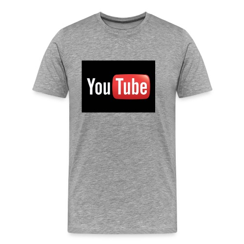 Youtube logo 4 jpg - Men's Premium T-Shirt