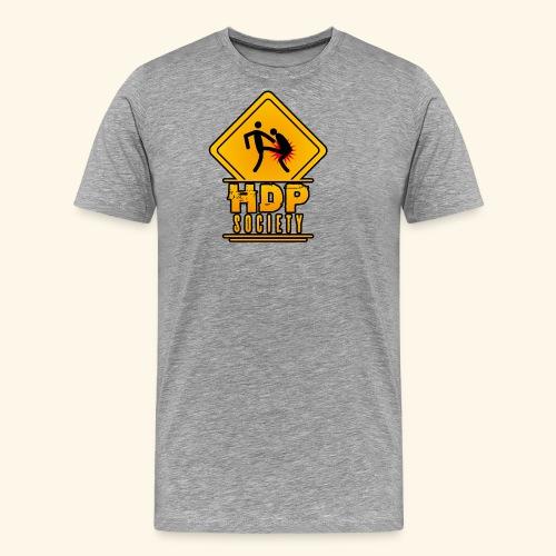 HDP Society Logo Full - Men's Premium T-Shirt