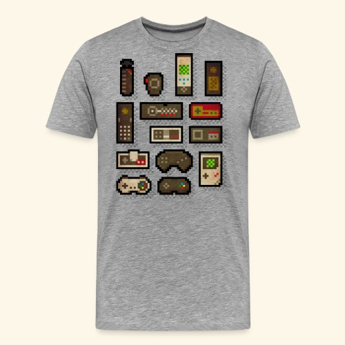 pixelcontrol - Men's Premium T-Shirt