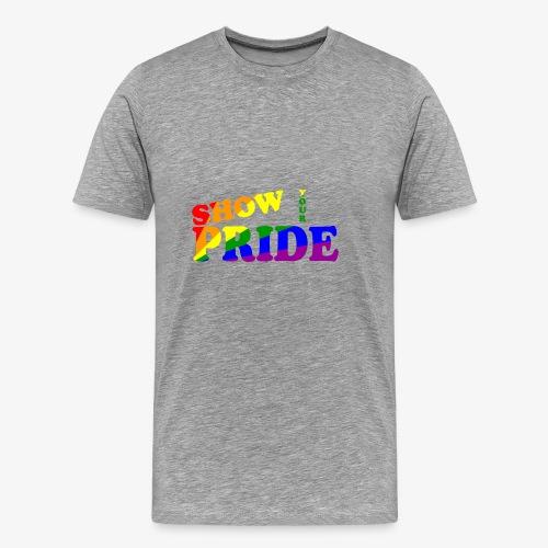 SHOW YOUR PRIDE A - Men's Premium T-Shirt