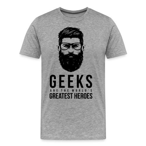 GEEK HERO - Men's Premium T-Shirt