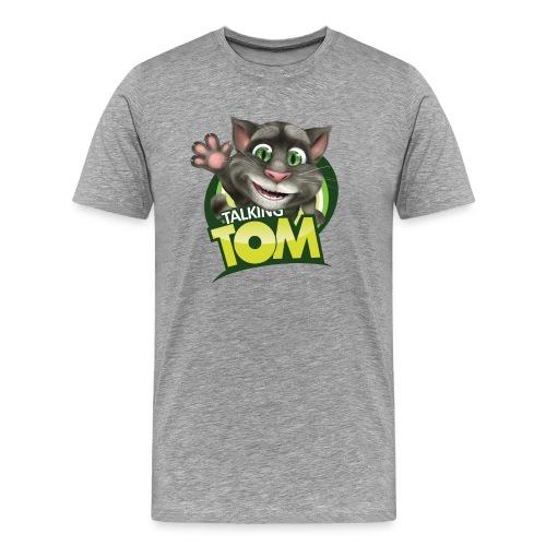 Talking_TOM_wave_preview_lowRes - Men's Premium T-Shirt