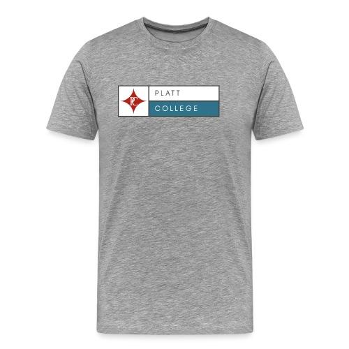 Platt College Logo 2000 - Men's Premium T-Shirt