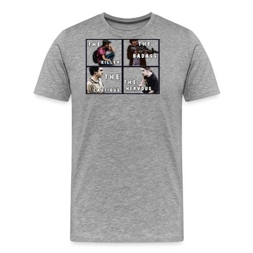 good bad ugly parody 2 - Men's Premium T-Shirt