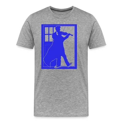 ryan tardis blue1 - Men's Premium T-Shirt