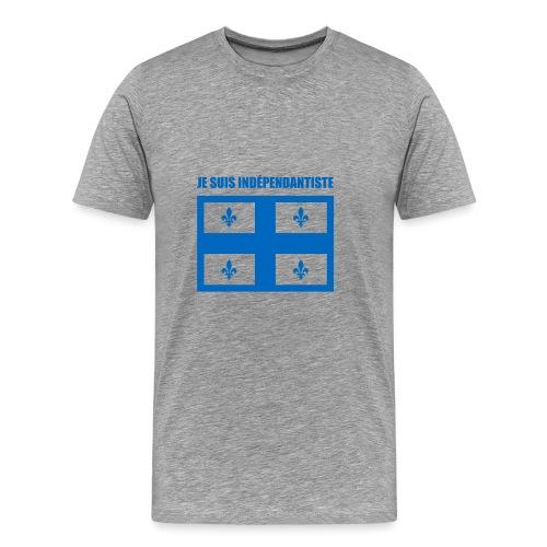 Je suis indépendantiste (Québec) - Men's Premium T-Shirt