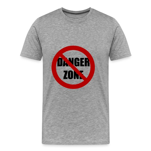 No Danger Zone - Men's Premium T-Shirt