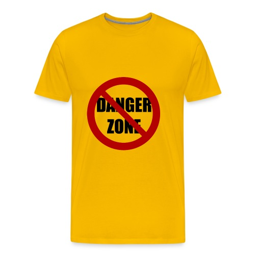 No Danger Zone - Men's Premium T-Shirt