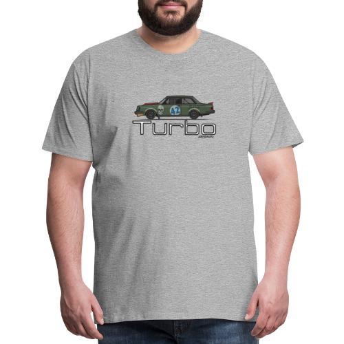 240 Turbo Track Car - Men's Premium T-Shirt