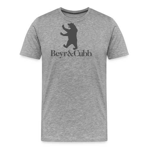 Bear and Cubb Heraldry Bear - Men's Premium T-Shirt