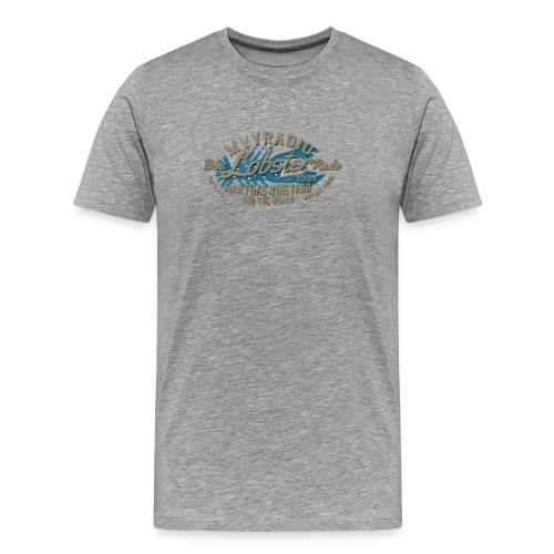 Blue Lob Radio - Tan - Men's Premium T-Shirt