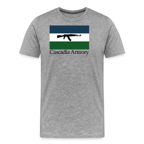 Cascadia Armory Logo - Men's Premium T-Shirt