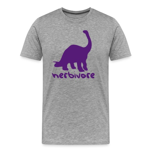 Dinosaur Herbivore - Men's Premium T-Shirt