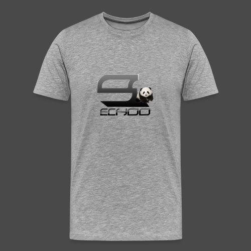 Echoo Logo png - Men's Premium T-Shirt