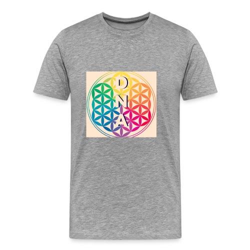 Flower of Life - DNA - Men's Premium T-Shirt