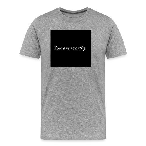 The Voice of Peace - Men's Premium T-Shirt